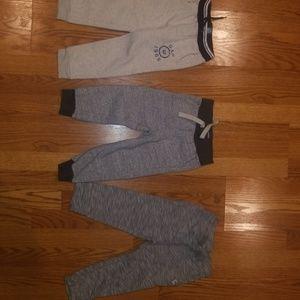 3 pairs of boys Gap joggers